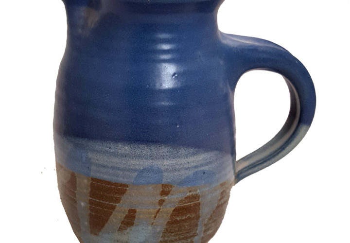 1 Quart Pitcher in Midnight Reflections Glaze Pattern