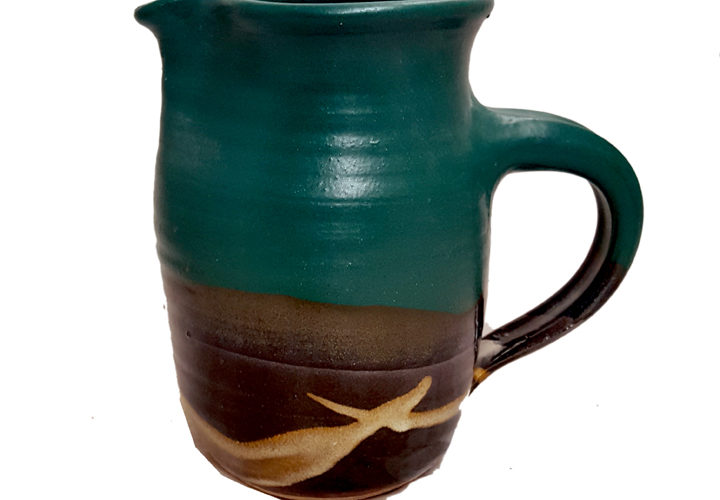 1 Quart Pitcher in Murkwood Glaze Pattern